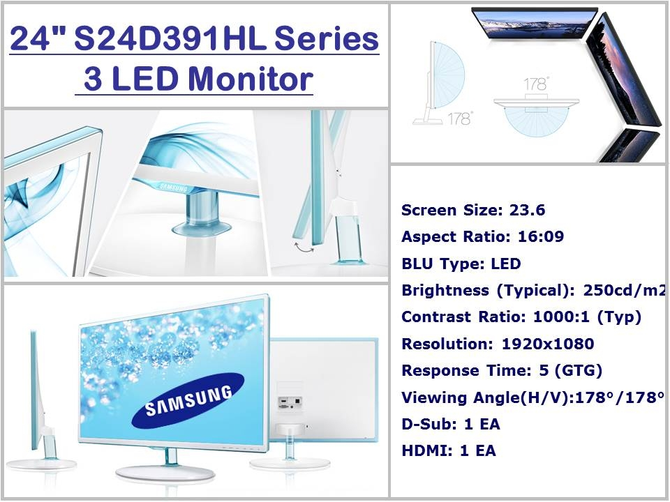 Samsung monitor - 24