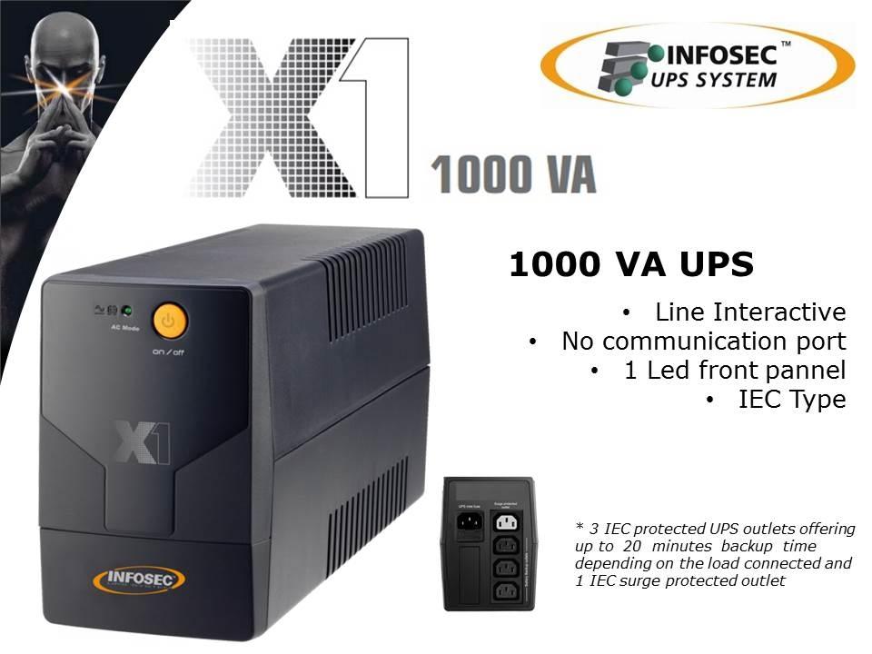 Infosec_X1 1000VA