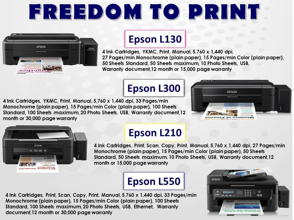 >> Epson Ink-jet CISS printers <<